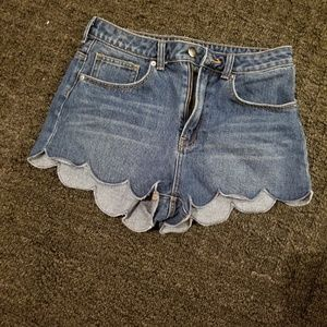 Super Adorable H & M High Waisted Jean Shorts